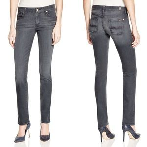 7 For All Mankind Kimmy Straight Leg Jeans
